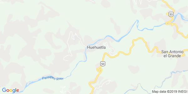 Mapa de HUEHUETLA