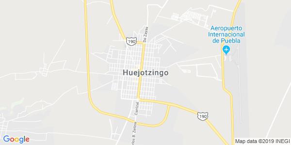 Mapa de HUEJOTZINGO