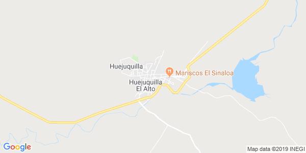 Mapa de HUEJUQUILLA EL ALTO