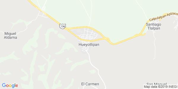Mapa de HUEYOTLIPAN