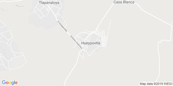 Mapa de HUEYPOXTLA