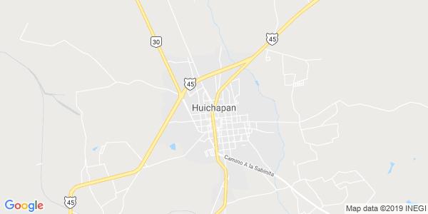 Mapa de HUICHAPAN