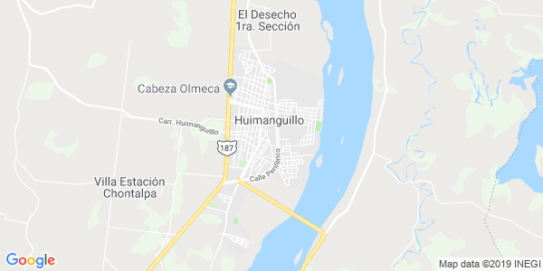 Mapa de HUIMANGUILLO