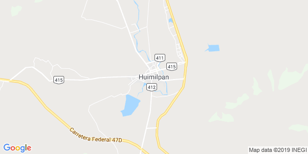Mapa de HUIMILPAN