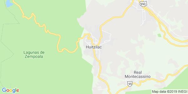 Mapa de HUITZILAC