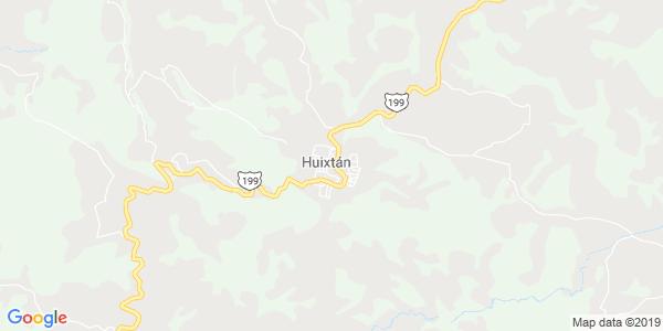 Mapa de HUIXTÁN
