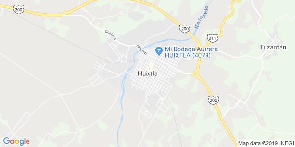 Mapa de HUIXTLA