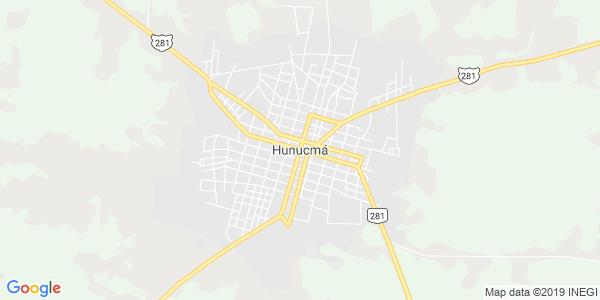 Mapa de HUNUCMÁ