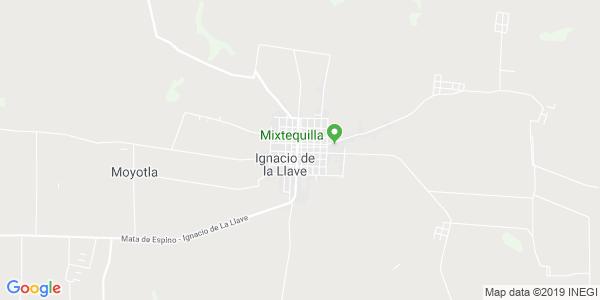 Mapa de IGNACIO DE LA LLAVE