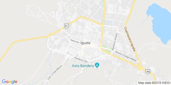 Mapa de IGUALA DE LA INDEPENDENCIA
