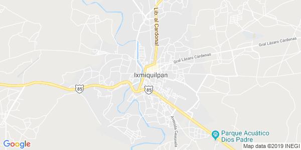 Mapa de IXMIQUILPAN