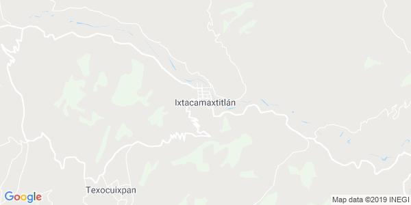 Mapa de IXTACAMAXTITL�N
