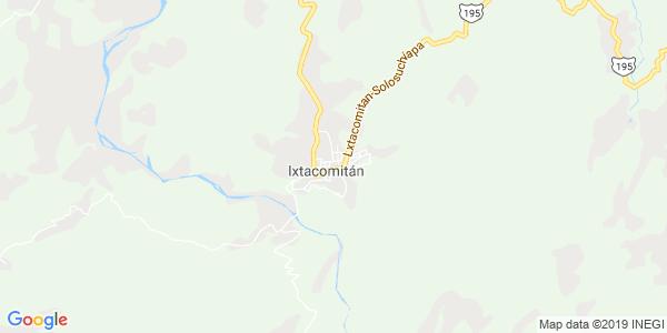 Mapa de IXTACOMITÁN