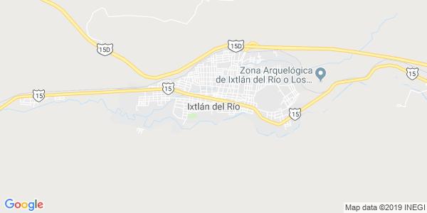 Mapa de IXTL�N DEL R�O