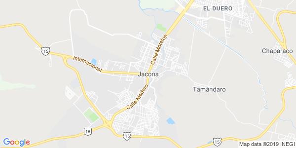 Mapa de JACONA