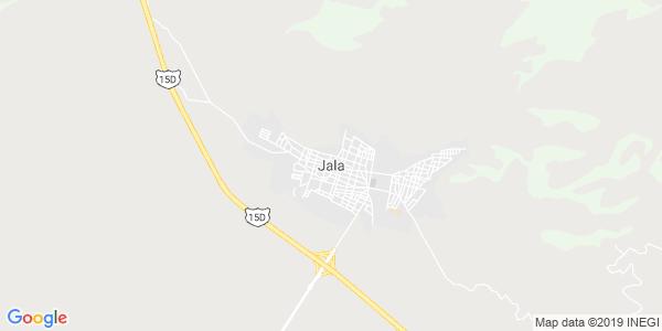 Mapa de JALA