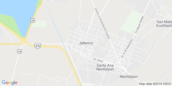 Mapa de JALTENCO