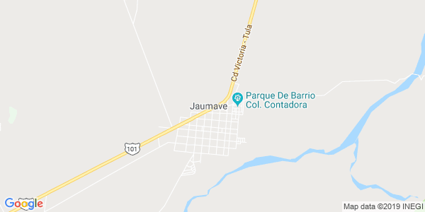Mapa de JAUMAVE