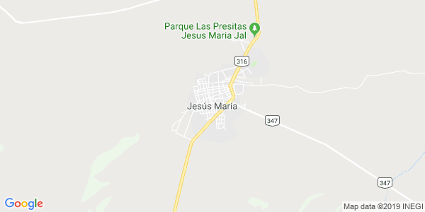 Mapa de JES�S MAR�A