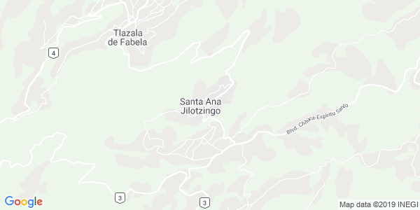 Mapa de JILOTZINGO