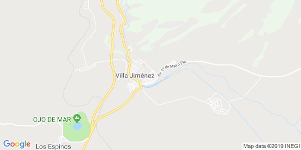 Mapa de JIMÉNEZ