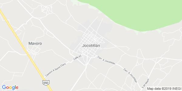 Mapa de JOCOTITL�N