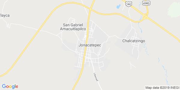 Mapa de JONACATEPEC