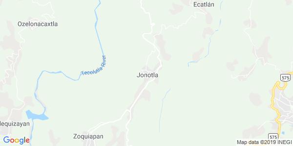 Mapa de JONOTLA