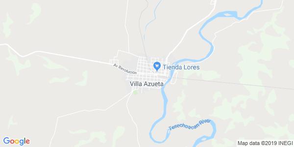 Mapa de JOSÉ AZUETA