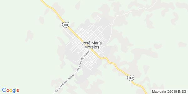 Mapa de JOSÉ MARÍA MORELOS