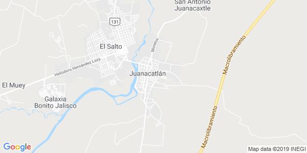 Mapa de JUANACATL�N