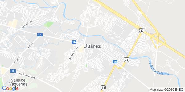Mapa de JUÁREZ