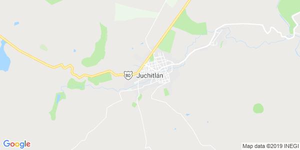 Mapa de JUCHITL�N