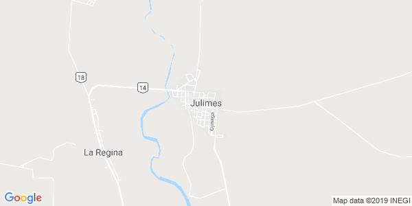 Mapa de JULIMES