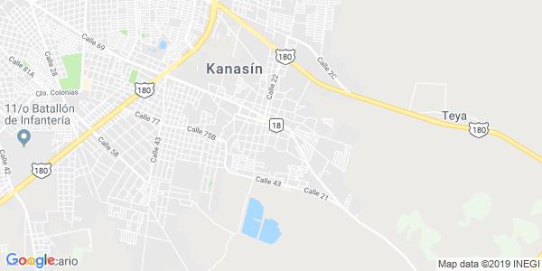 Mapa de KANAS�N