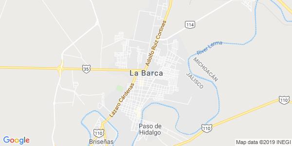 Mapa de LA BARCA