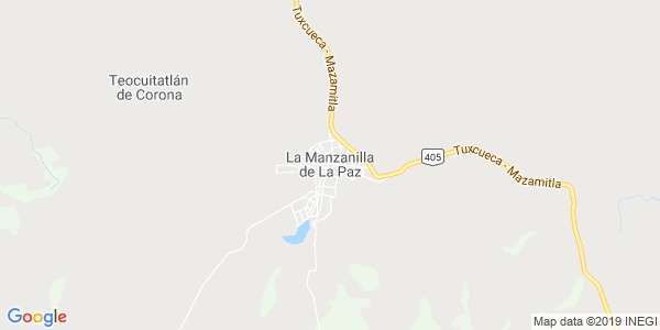 Mapa de LA MANZANILLA DE LA PAZ