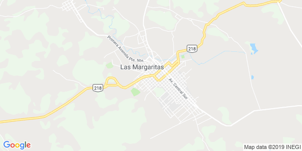 Mapa de LAS MARGARITAS