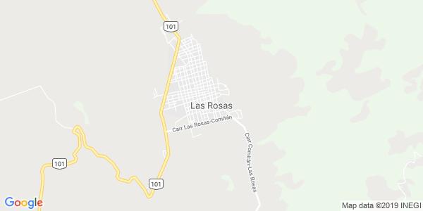 Mapa de LAS ROSAS