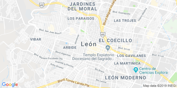 Mapa de LEÓN