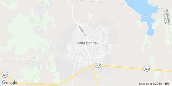Mapa de LOMA BONITA