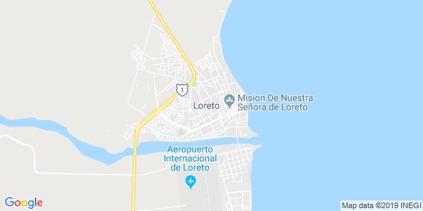 Mapa de LORETO