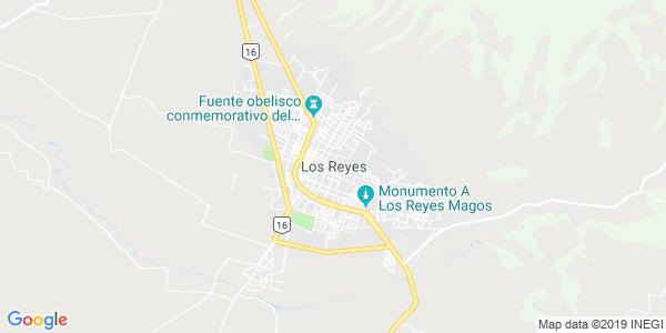 Mapa de LOS REYES