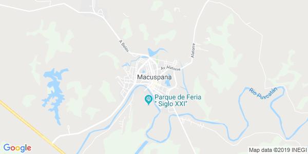 Mapa de MACUSPANA