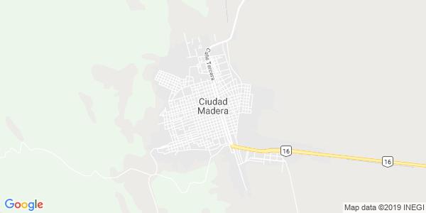 Mapa de MADERA