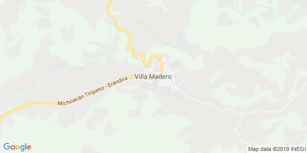 Mapa de MADERO