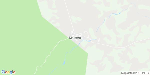 Mapa de MAINERO