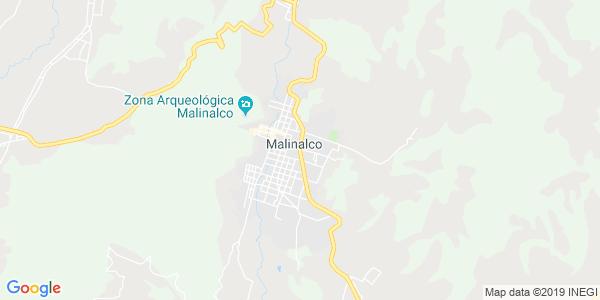 Mapa de MALINALCO