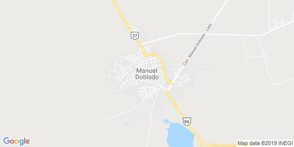 Mapa de MANUEL DOBLADO
