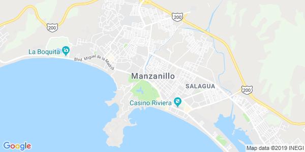 Mapa de MANZANILLO